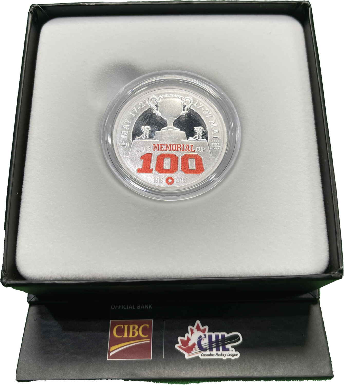 100th Year Memorial Cup Coin
