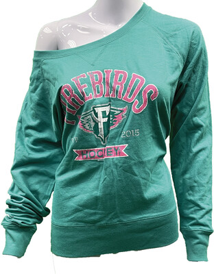 Ladies Overpass Slouchy Pullover
