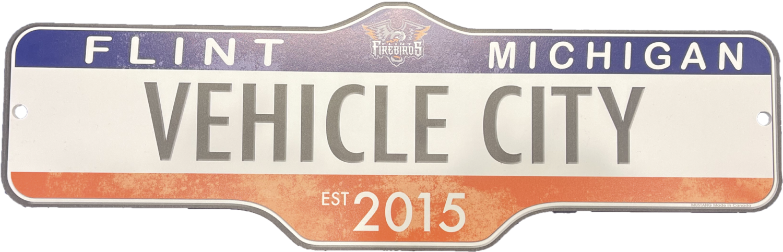 Vehicle City Sign