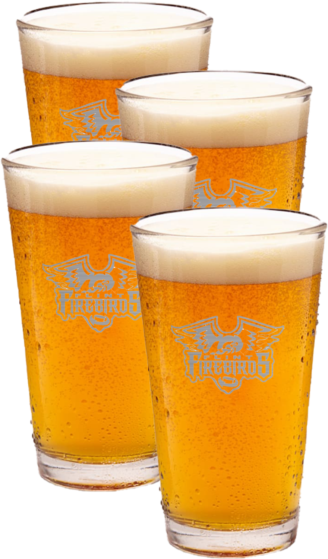 4Ct Beer Pint Glasses