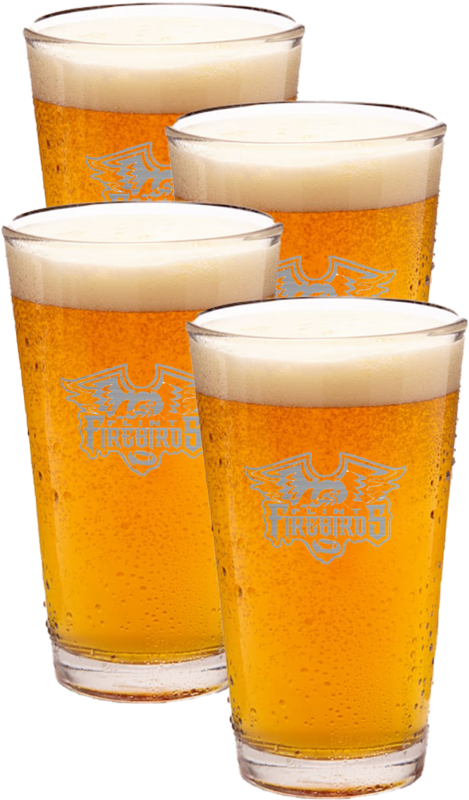 4Ct Beer Pint Glasses
