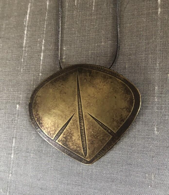 Peace Leaf Pendant