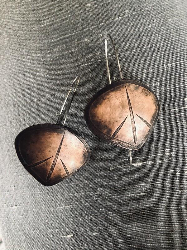 Peace leaf Earrings