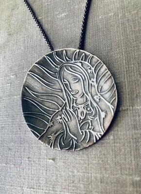 Virgen De Guadalupe Pendant