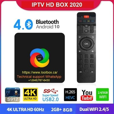2 Years with new Box IPTV HD 4500 Channels Service 2021 + Free shipping