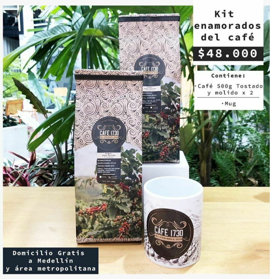Kit Enamorados del Cafe