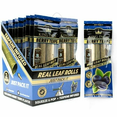 King Palm - Blue Berry Terp Cones Slim (2 Pack)