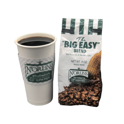 N'Orlins Coffee - The Big Easy Blend - 0.8oz bag