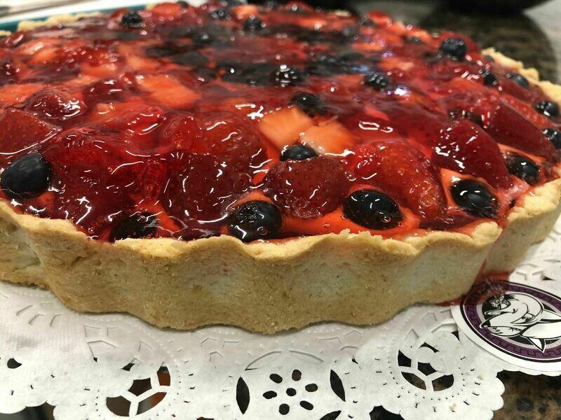 Strawberries and Berries Tart