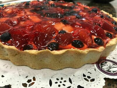 Strawberries and Berries Tart