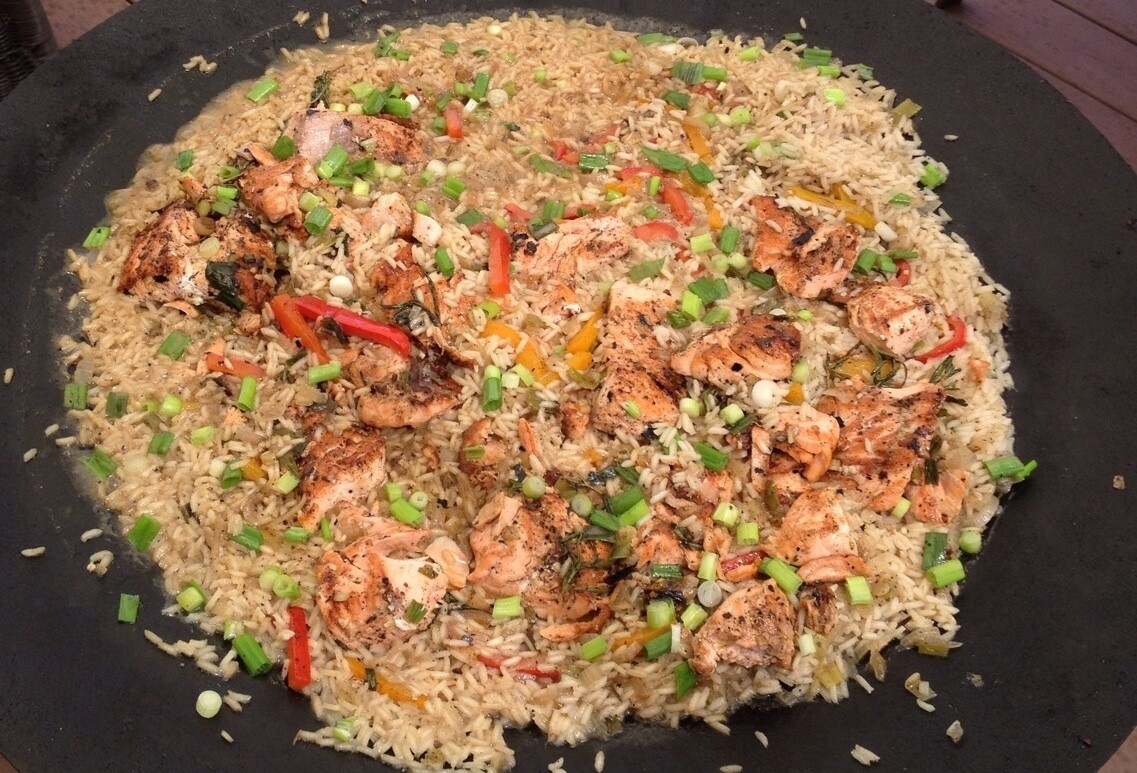 Chicken with rice (serves 2)