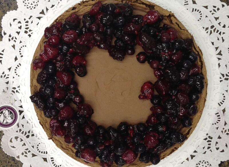 Chocoberries Cake