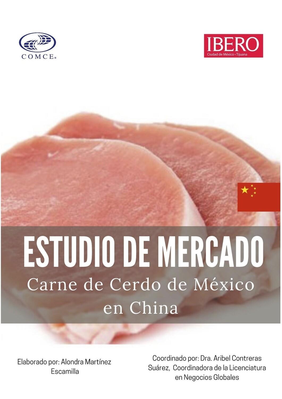 ESTUDIO DE MERCADO PARA LA EXPORTACION DE CARNE DE CERDO A CHINA