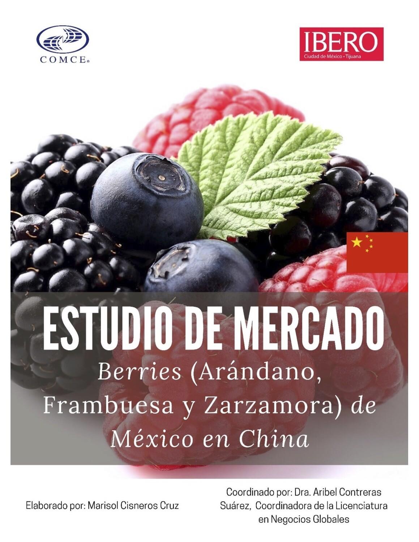 ESTUDIO DE MERCADO.- OPORTUNIDAD DE NEGOCIO DE BERRIES MEXICANAS EN CHINA.