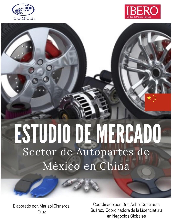 ESTUDIO DE MERCADO DE OPORTUNIDADES DE NEGOCIO DE AUTOPARTES DE MEXICO A CHINA.