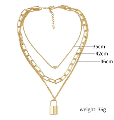 Golden 2 Necklace