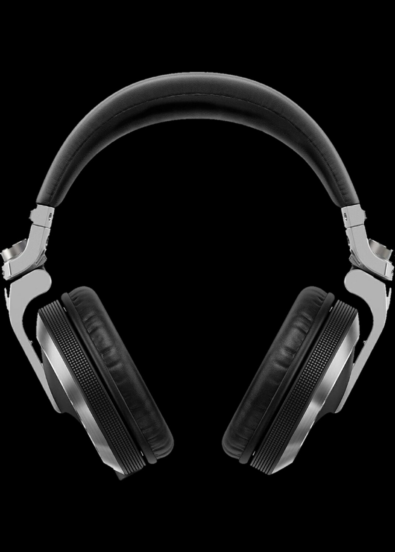 Pioneer DJ HDJ-X7-K Auriculares profesionales para DJ, Plata