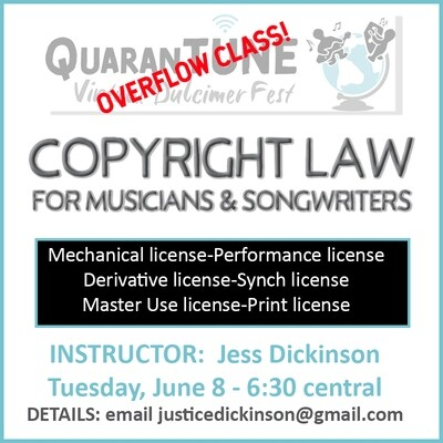 June 8 Copyright Class
