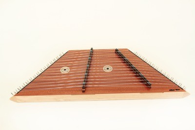 Master Works Sapelli Pioneer 16/15 Hammered Dulcimer Package