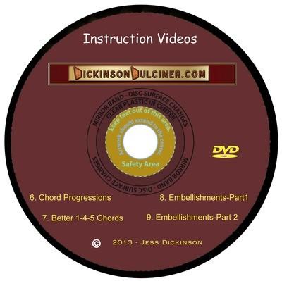 DVD Hammered Dulcimer Instruction Videos - ALL THREE