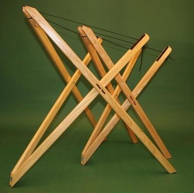 Sit-down X-Brace Hammered Dulcimer Stand