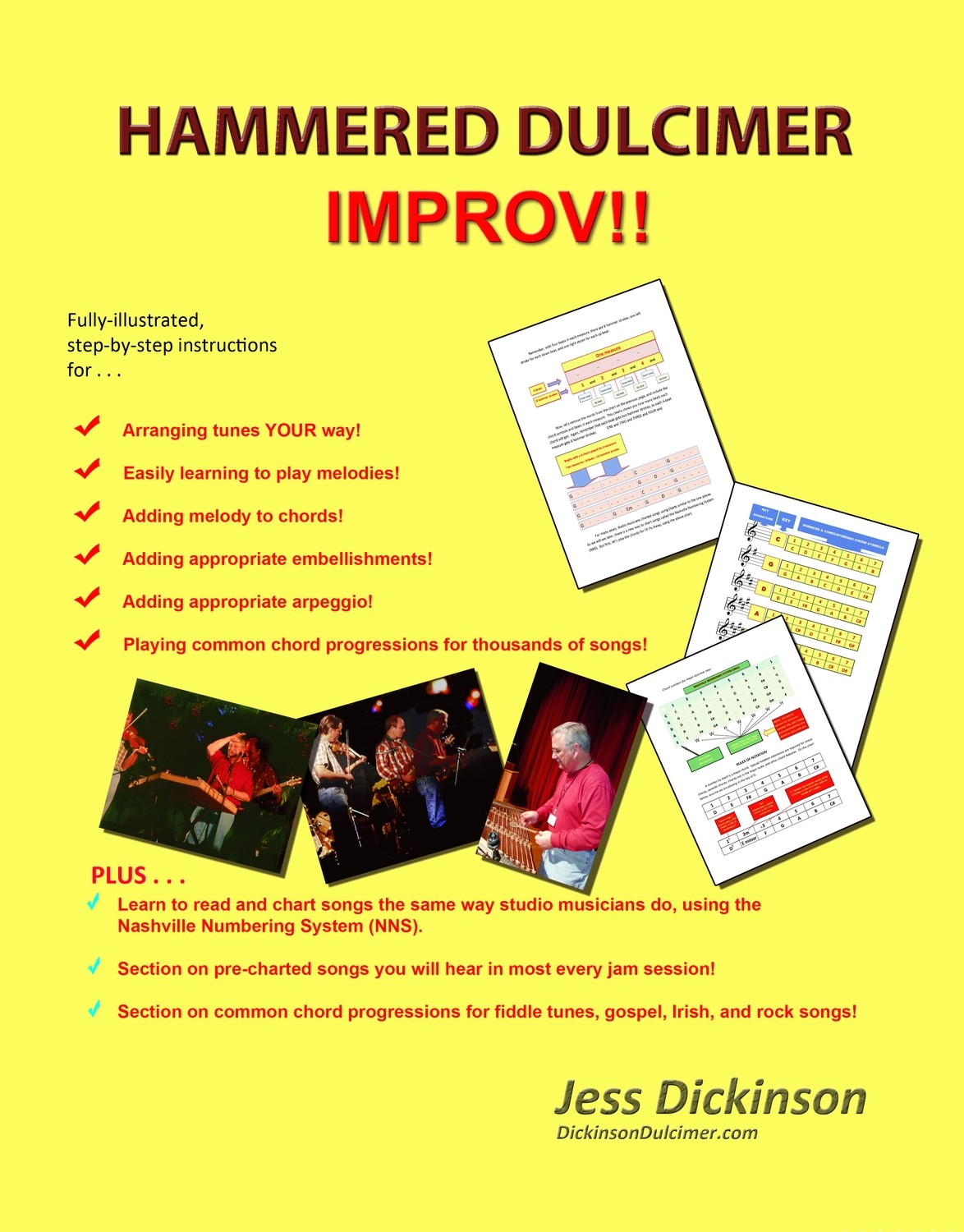HAMMERED DULCIMER IMPROV  - for intermediate players -------- DIGITAL VERSION ONLY ---------PAPER BOOKS SOLD OUT!