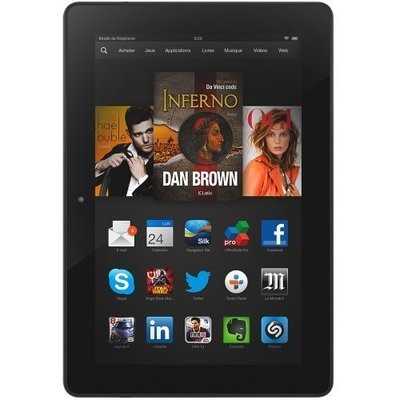 Remplacement Ecran complet (Ecran + vitre tactile) Amazon Kindle Fire HDX 7