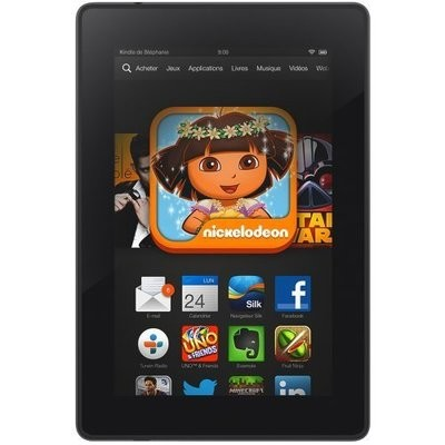 Remplacement Ecran complet (Ecran + vitre tactile) Amazon Kindle Fire HD 7