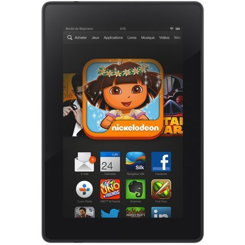 Remplacement Ecran complet (Ecran + vitre tactile) Amazon Kindle Fire HD 7 ""