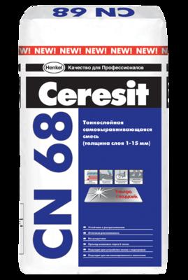 Смесь Самовыравнивающаяся Сeresit CN 68/25кг