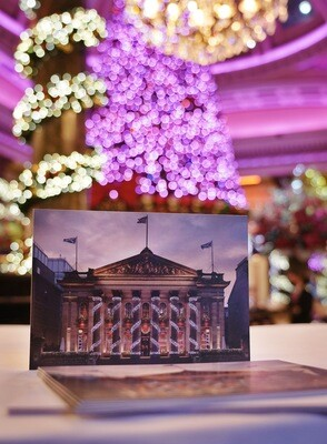 Dome Christmas Cards (Six pack)