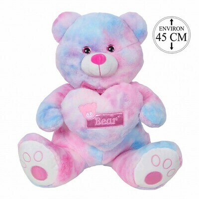 L'Ours Rainbow 45 cm
