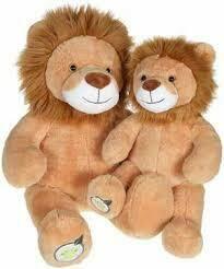 Peluche à personnaliser - Leon le lion 62cm