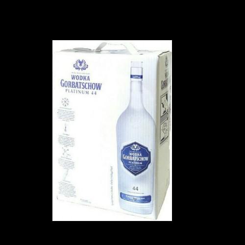 Водка Gorbatschow Platinum 44% 3 литра