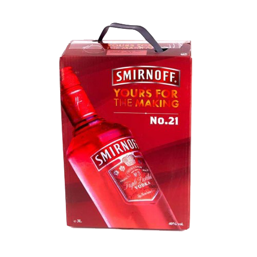 Водка Smirnoff Клюква 3 литра