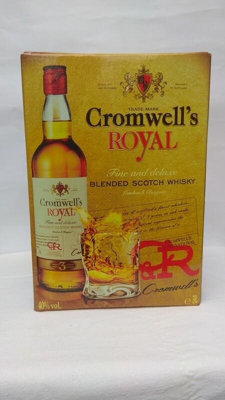Виски Cromwell's Royal 3 литра