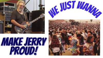 """""""Make Jerry Proud"""" - Uncle Jerry's Band - Tribute to Jerry Garcia / Grateful Dead - MP3"""