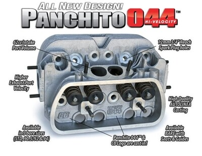 CB Performance Panchito 044�  90.5mm with Dual high rev springs