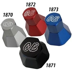 CB Performance Billet Aluminum Alternator Pulley Hex Nut & Spacer (specify color)