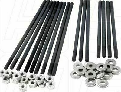 SCAT High tensile Cylinder Head Stud Kit 8mm 1/2'' Longer Dual port