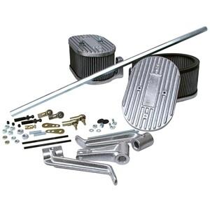 6485 Cross Bar Linkage Kit w/Air Filters (fits Straight Manifolds) IDF & DRLA