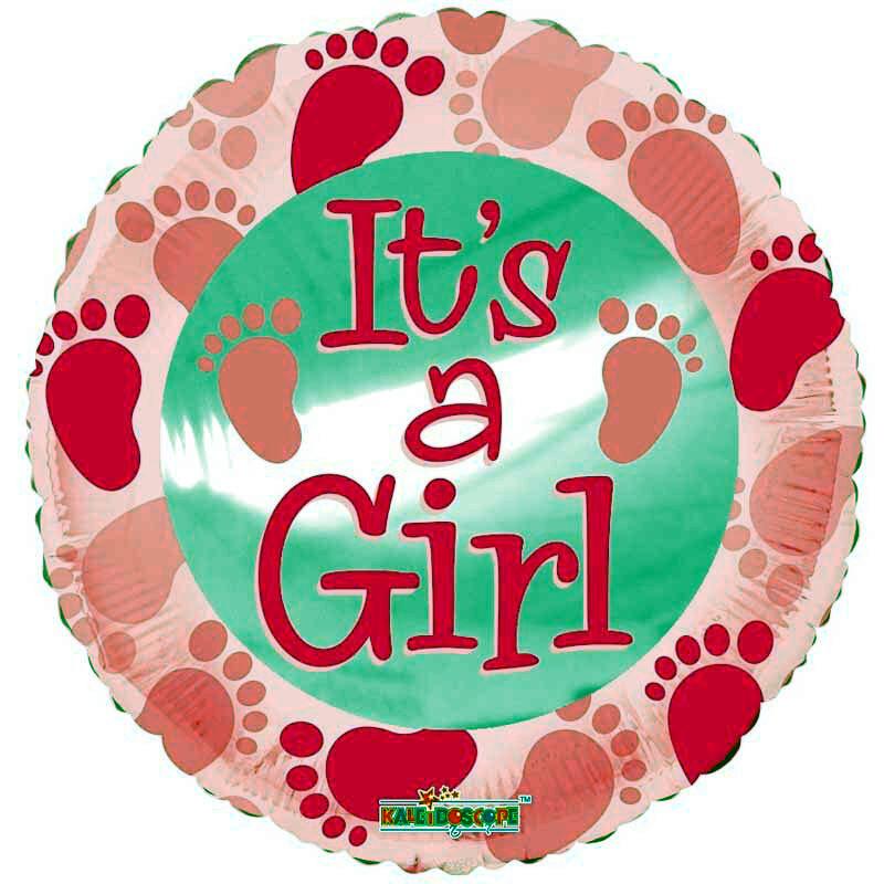 Foil Balloon ITS A GIRL