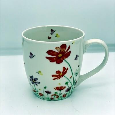 Coffee Mug Floral Design