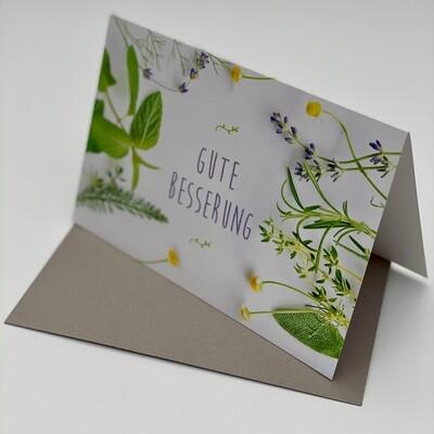 Greeting Card - Gute Besserung