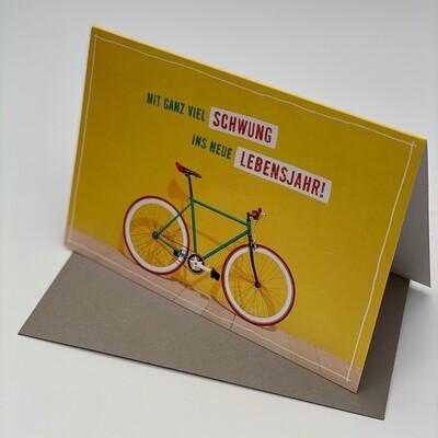 Greeting Card - Bicycle