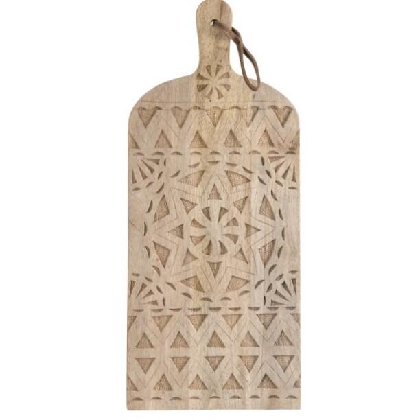 Cutting Board Ethnic Mango Wood