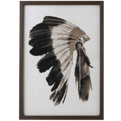 Frame headdress Native American
