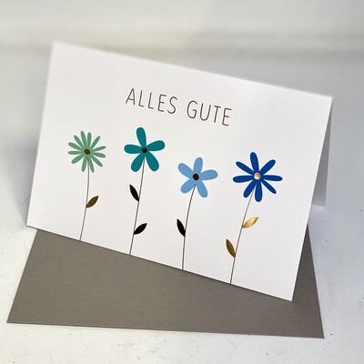 Greeting Card - Alles Gute