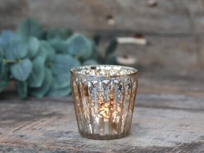 Votive Mercury Glass