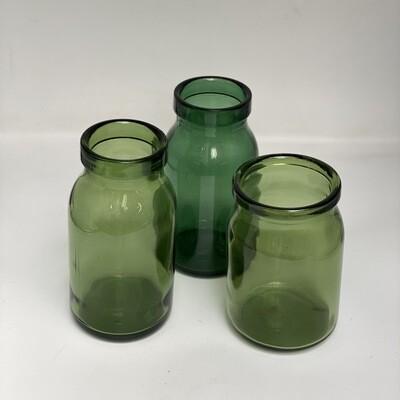 Glass Vases Green